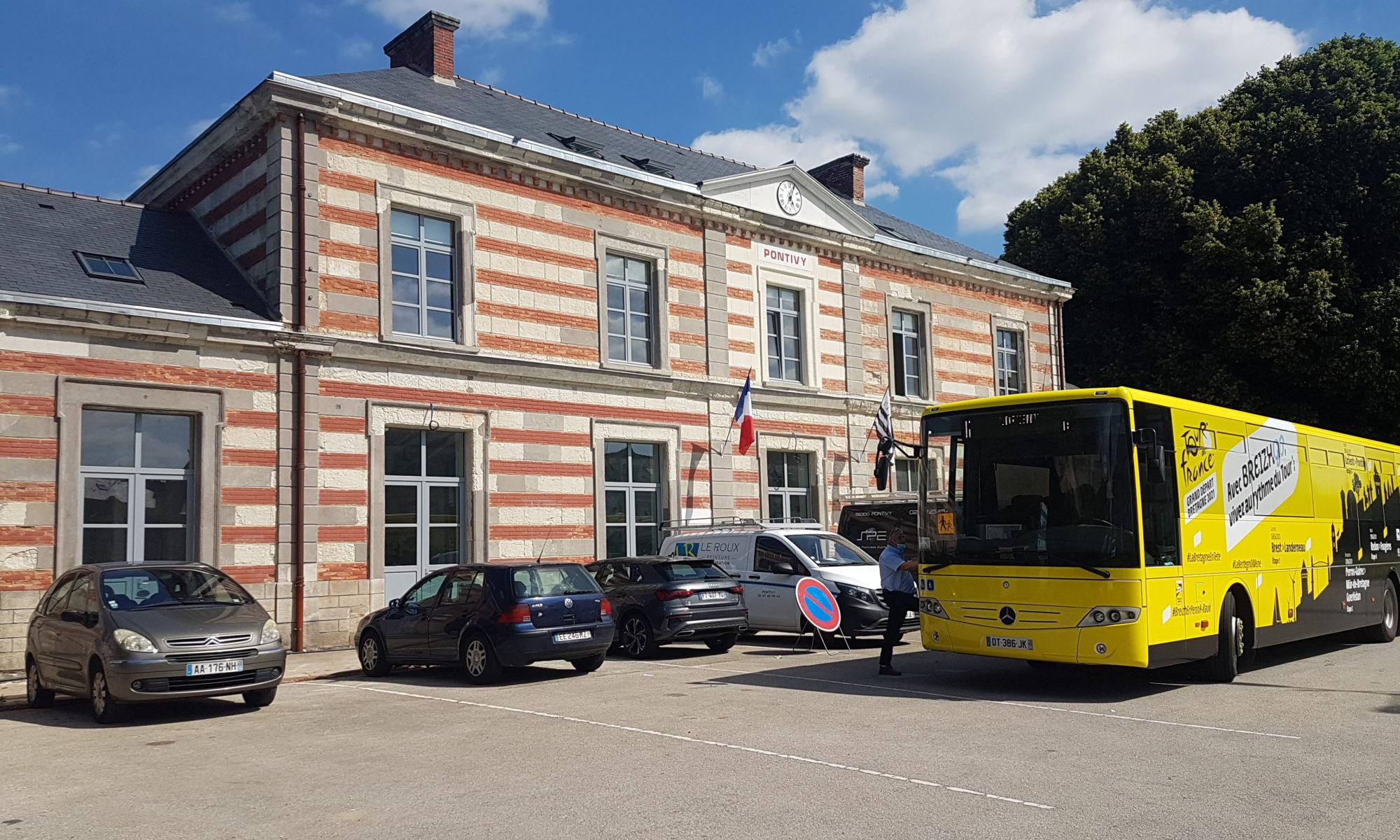 La Gare de PONTIVY